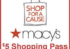 Macy's offers charity shopping event