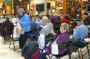 Senior Services expo at Crossgates Mall