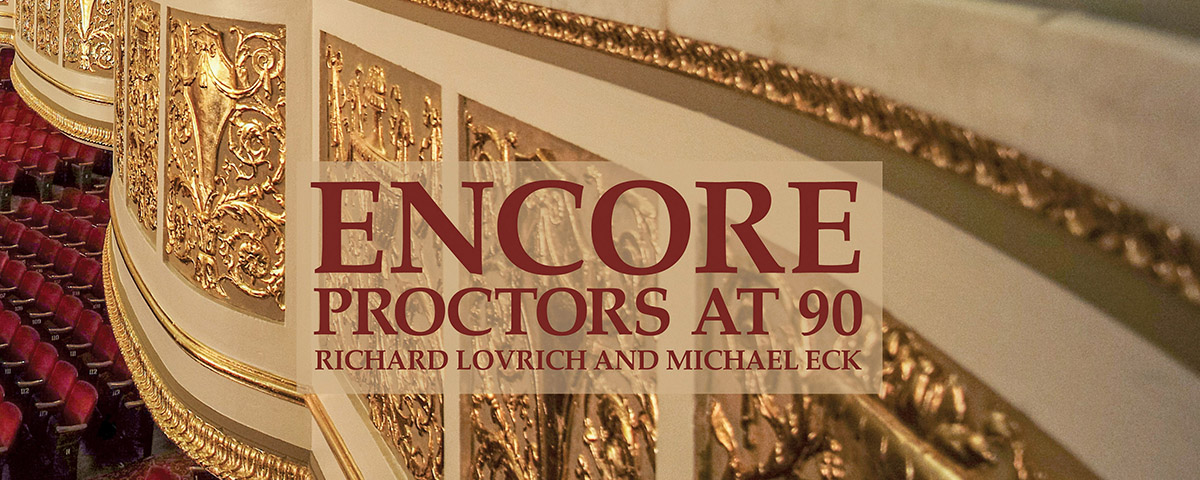 Preview, book-signing for 'Proctors at 90'