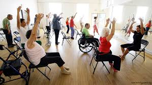 Dance class for people with Parkinson's